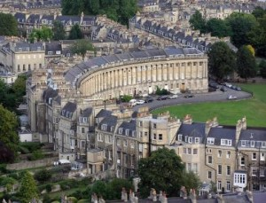 Bath, il Royal Crescent