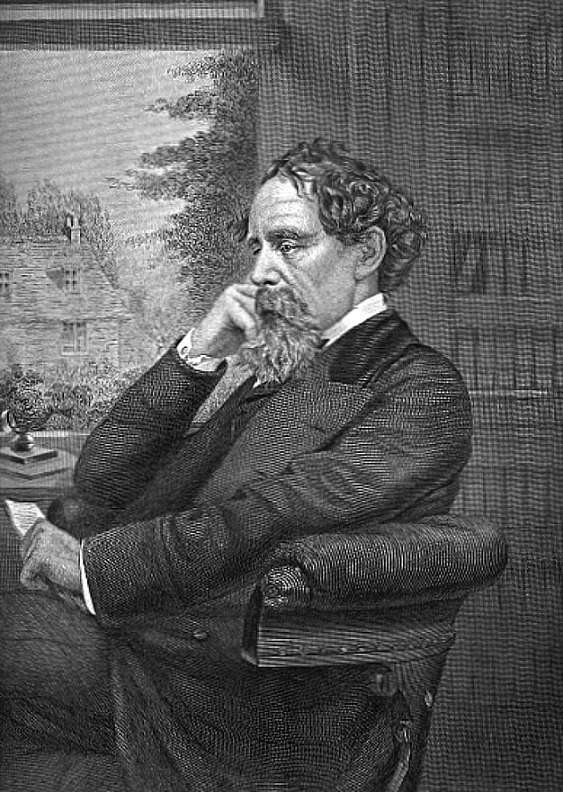 Ritratto di Dickens