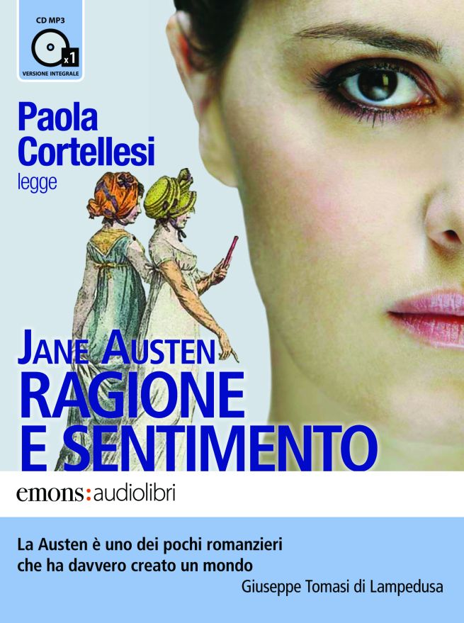 Paola Cortellesi legge Ragione e Sentimento per Emons Audiolibri
