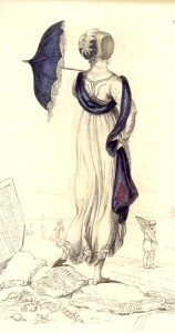 Promenade Dress (Ackermann's Repository 1809)
